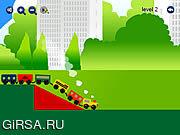Флеш игра онлайн Mini Train