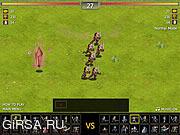 Флеш игра онлайн Война Miragine