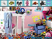 Флеш игра онлайн Найти предметы  - Современные игрушки