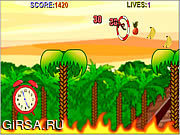 Флеш игра онлайн Парень обезьяны / Monkey Dude
