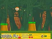 Флеш игра онлайн Обезьяна скачет / Monkey Jump