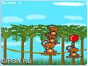 Флеш игра онлайн Обезьяны