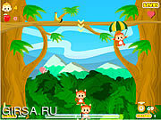 Флеш игра онлайн В поисках бананов