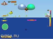 Флеш игра онлайн Приключения мартышки / Monkey Target