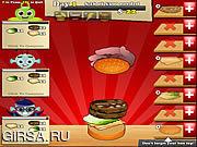 Флеш игра онлайн Monster Burger