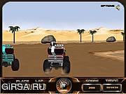 Флеш игра онлайн Монстр Раса 3D