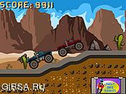 Флеш игра онлайн Джип Монстр / Monster Truck Race