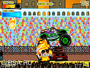 Флеш игра онлайн Монстр Грузовик Зомби