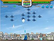 Флеш игра онлайн Изверги против чужеземца - Gallaxhar вторгается