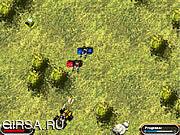 Флеш игра онлайн Ярость тележки изверга / Monster Truck Rampage