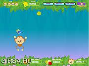 Флеш игра онлайн Пн обезьяны / Mon the Monkey