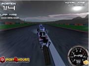 Флеш игра онлайн Призрачный гонщик / Moon Light Motorway