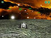 Флеш игра онлайн Moon Defender