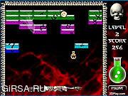 Флеш игра онлайн Разрушитель блоков / Mortanoid