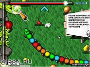 Флеш игра онлайн Пестрой Мутант Червь