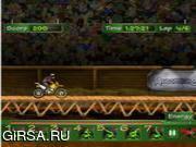 Флеш игра онлайн Мотокросс BMX / MotoCross BMX