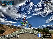 Флеш игра онлайн Мотокросс-трюки / Motocross Drifter