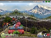 Флеш игра онлайн Motocross Mountain Madness