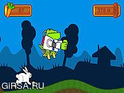 Флеш игра онлайн MotoRabbit