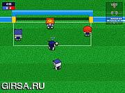 Флеш игра онлайн Mini Soccer