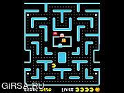 Флеш игра онлайн Ms. Pacman