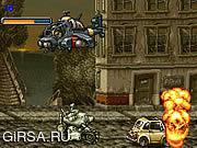 Флеш игра онлайн Ярость куска металла металла / Metal Slug Rampage