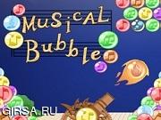 Флеш игра онлайн Музыкальный Пузырь