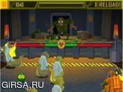 Флеш игра онлайн Mutant zombie meltdown