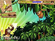 Флеш игра онлайн Банановая стрельба