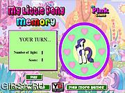 Флеш игра онлайн Маленькое пони / My Little Pony Memory
