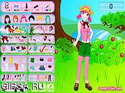 Флеш игра онлайн My Forest Dress