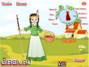 Флеш игра онлайн Наряд для американской девочки / Native American Girl Dressup