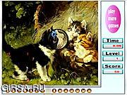 Флеш игра онлайн Непослушные котята. Скрытые цифры