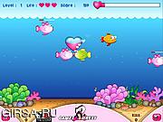 Флеш игра онлайн Поцелуй рыбок / Naughty Fish