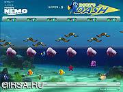 Флеш игра онлайн Черточки Дори / Dory's Dash