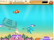 Флеш игра онлайн Nemo Finding foods