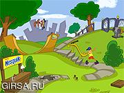 Флеш игра онлайн Поиски Nesquik