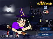 Флеш игра онлайн Гарри Потер / New Harry Potter Dress Up