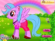 Флеш игра онлайн Пони / New Little Pony Dress Up