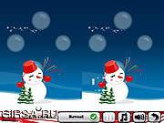 Флеш игра онлайн Новогодний фейерверк 5 отличий / New Year's Fireworks 5 Differences