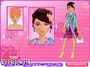 Флеш игра онлайн Нью-Йорке Студия красоты