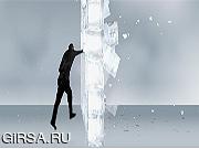 Флеш игра онлайн Ледяная стена