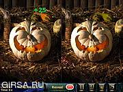 Флеш игра онлайн Найди отличия - Ночь Хэллоуина / Night Of Halloween