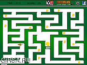 Флеш игра онлайн Крыса в ночном лабиринте / Night Rat Maze