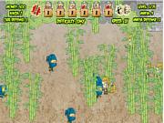 Флеш игра онлайн Нинзя Мафия Война / Ninja Mafia War