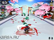 Флеш игра онлайн Ниндзя Слэш / Ninja Slash
