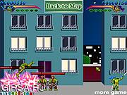 Флеш игра онлайн Черепашка-ниндзя - Главное сражение