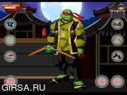 Флеш игра онлайн Ninja Turtles