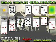 Флеш игра онлайн Черепашки-ниндзя: пасьянс