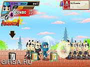 Флеш игра онлайн Нинзя Кира / NinjaKira